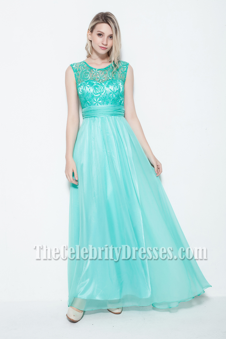 New Style Floor Length Lace Prom Dress Evening Gowns ...