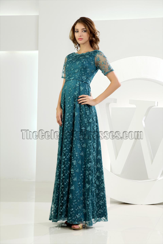 Elegant Green Lace Formal Dress Evening Dresses - TheCelebrityDresses