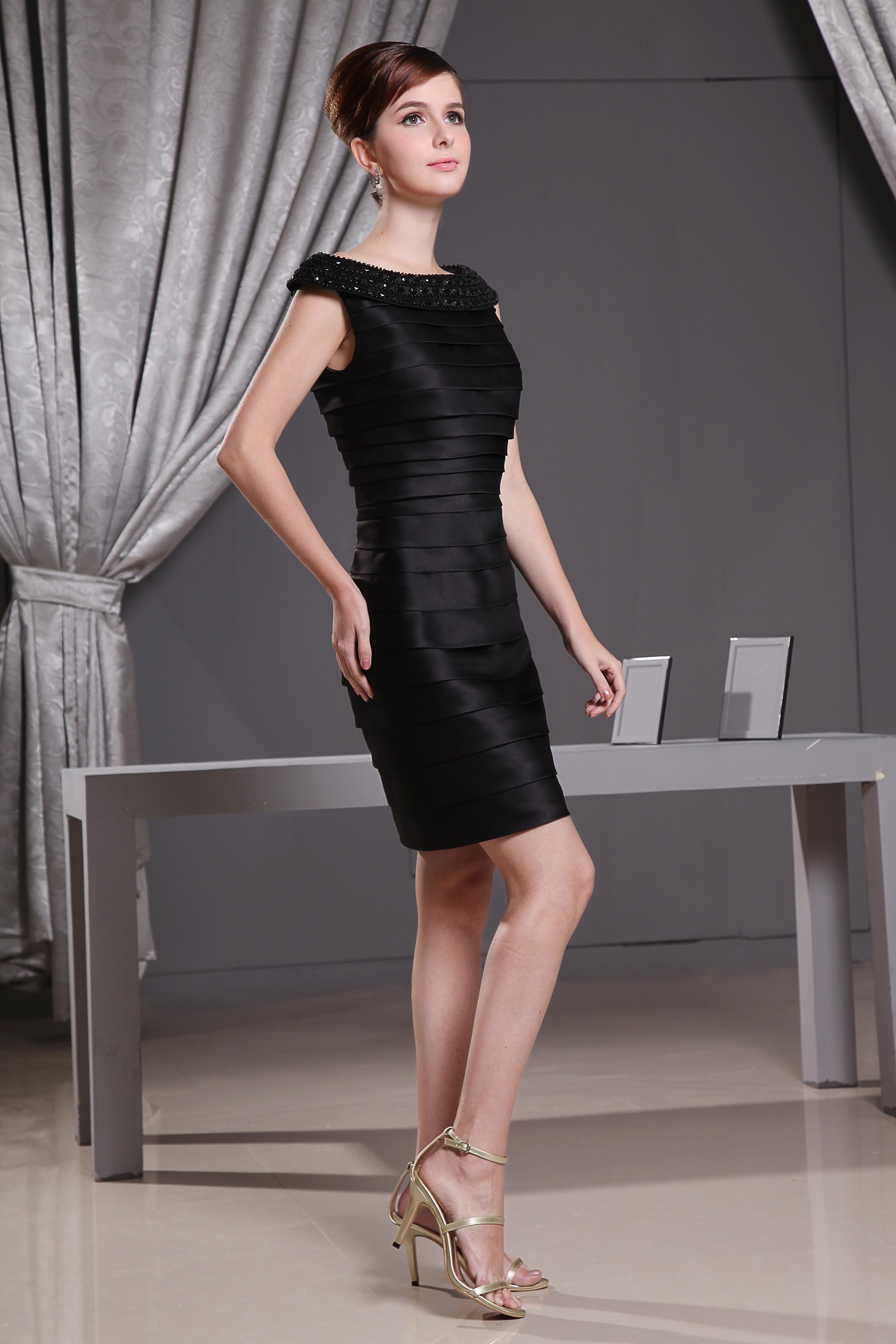 Little Black Dress Short Cocktail Party Dresses With ...