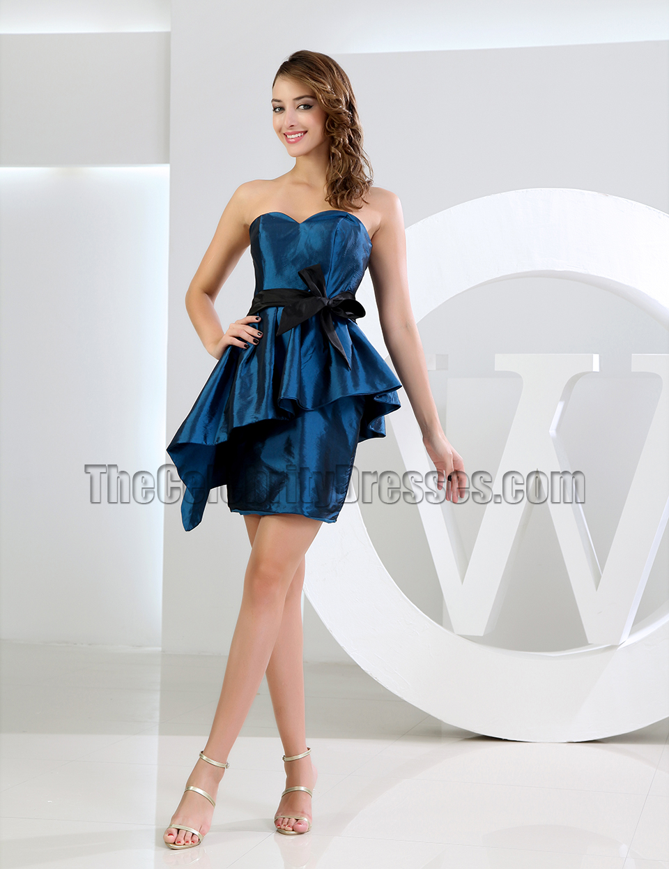 06eb68cc51 New Style Short Mini Strapless Cocktail Dress Party Dresses -  TheCelebrityDresses