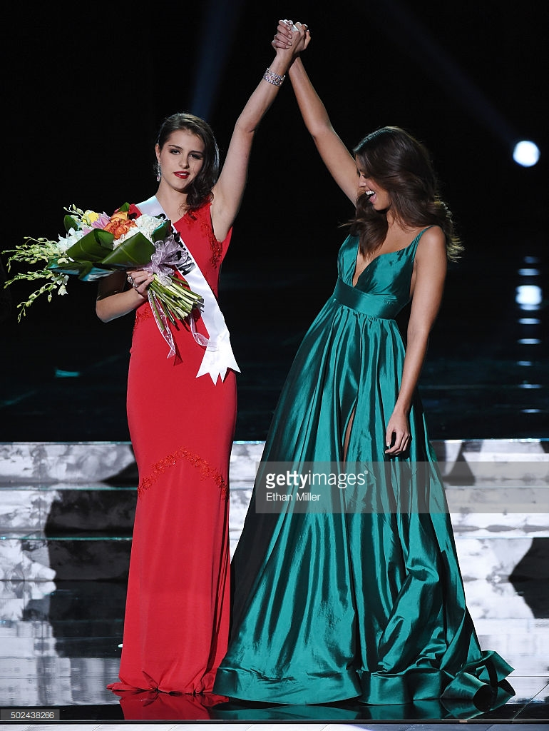 Miss Universe 2014 Paulina Vega Evening Gown 2015 Miss ...