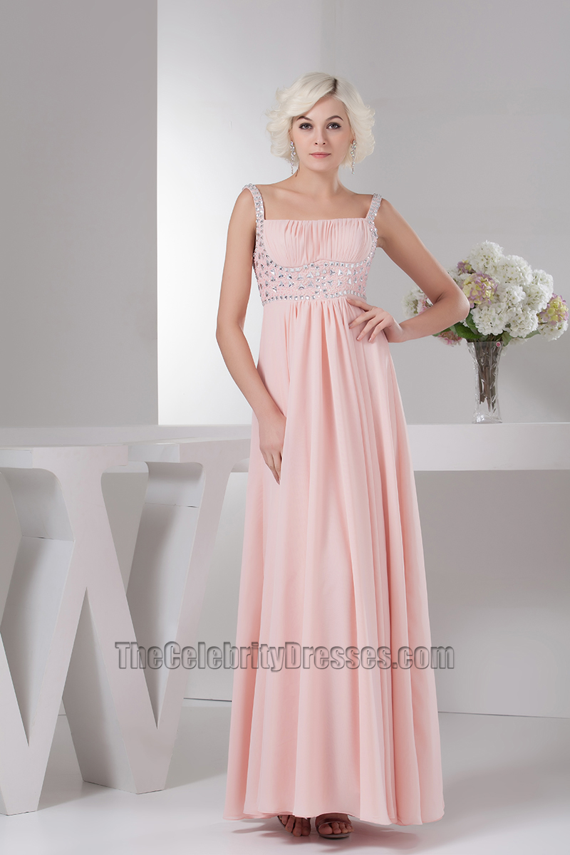 Pearl pink chiffon beaded prom gown evening bridesmaid dresses pearl pink chiffon beaded prom gown evening bridesmaid dresses thecelebritydresses ombrellifo Image collections