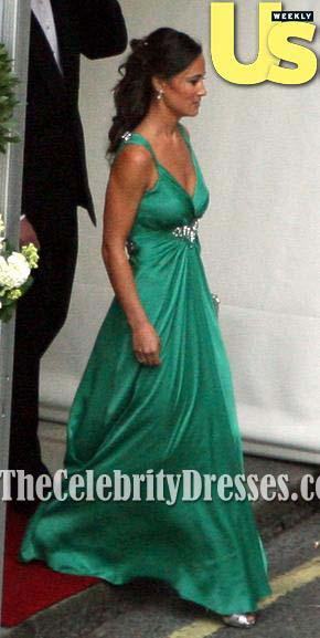 Pippa Middleton S Emerald Green Bridesmaid Dress At The