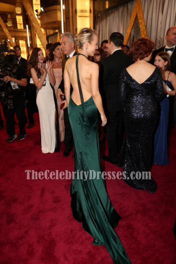 rachel mcadams sexy halter backless evening dress 88th