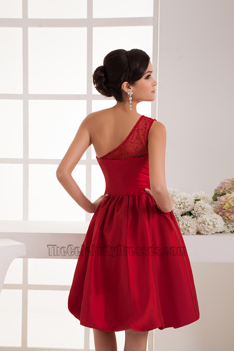 Red one shoulder cocktail graduation party homecoming dresses red one shoulder cocktail graduation party homecoming dresses thecelebritydresses ombrellifo Gallery