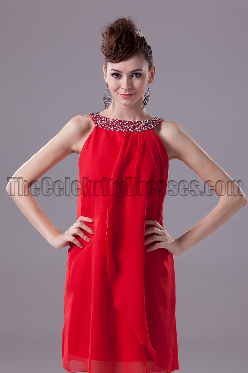 Discount Red Short Party Homecoming Graduation Dresses ...