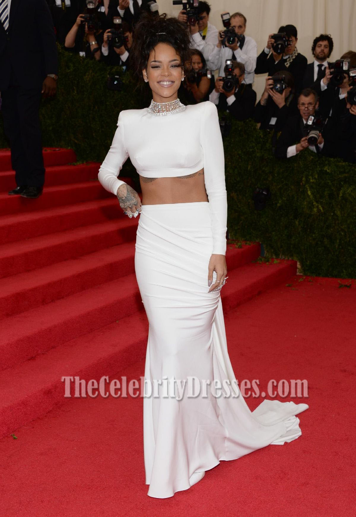 White Evening Gown Dresses_Evening Dresses_dressesss