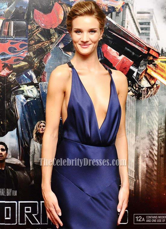 Formal Gown Sexy - Rosie Huntington-Whiteley Sexy Prom Dress Formal Evening Dresses -  TheCelebrityDresses
