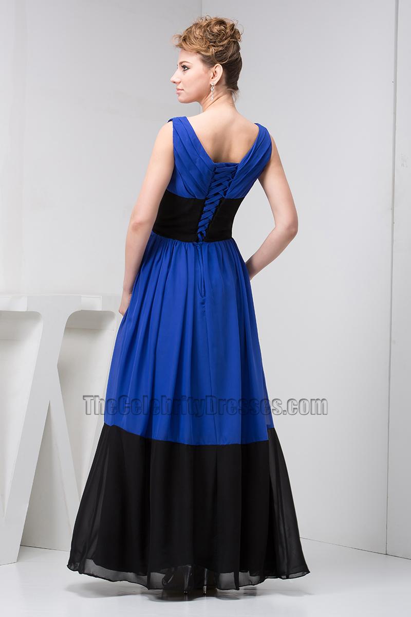 Augusta royal blue and black prom dresses fashion paradise