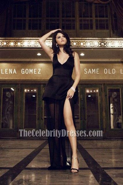 Selena Gomez Black Dresses