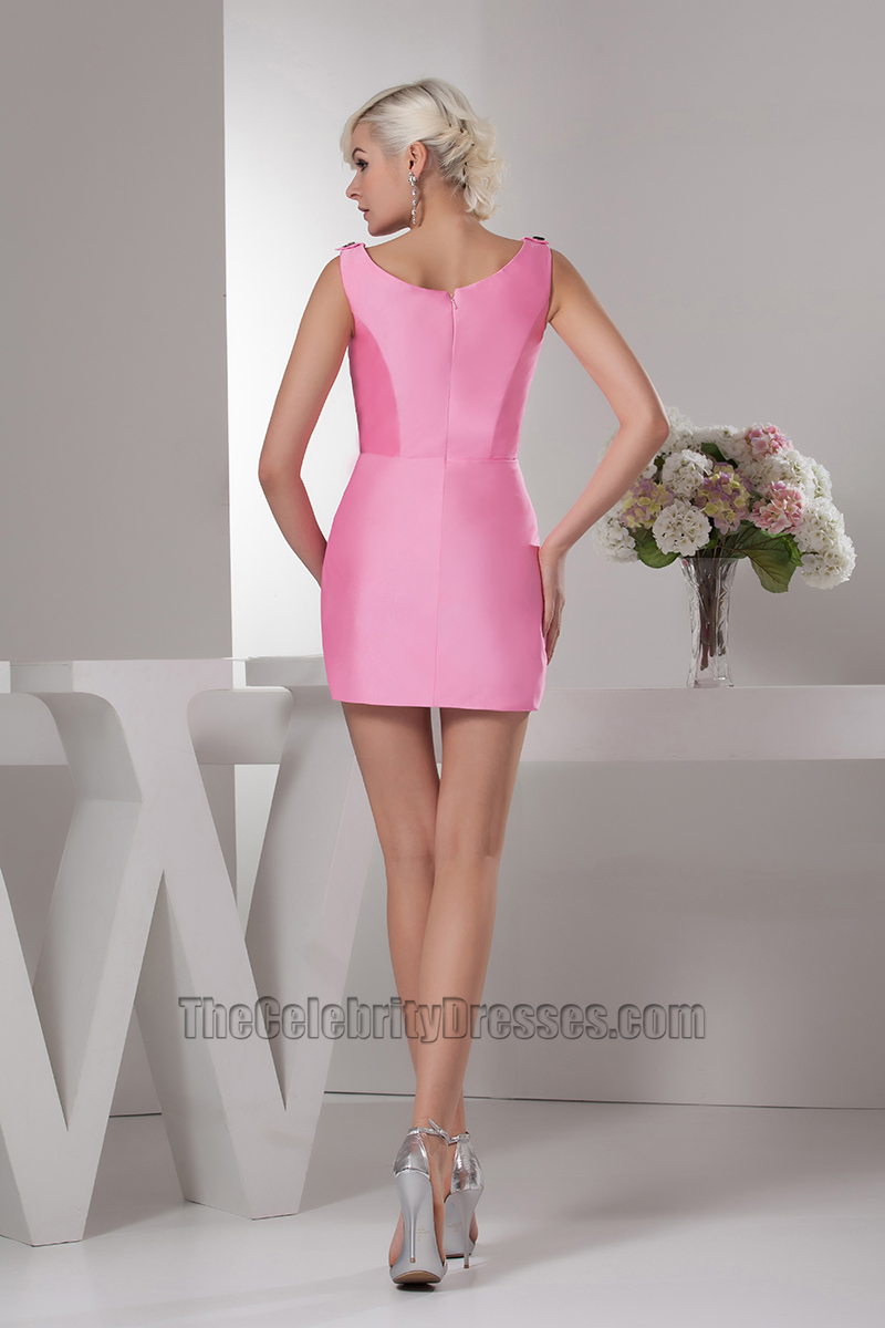 Hot Pink Mini Party Graduation Homecoming Dresses - TheCelebrityDresses