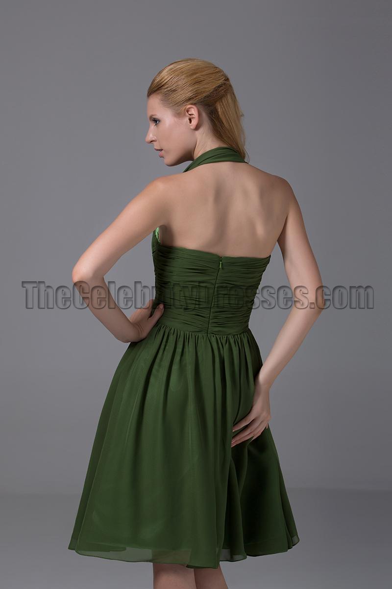 short green formal dresss
