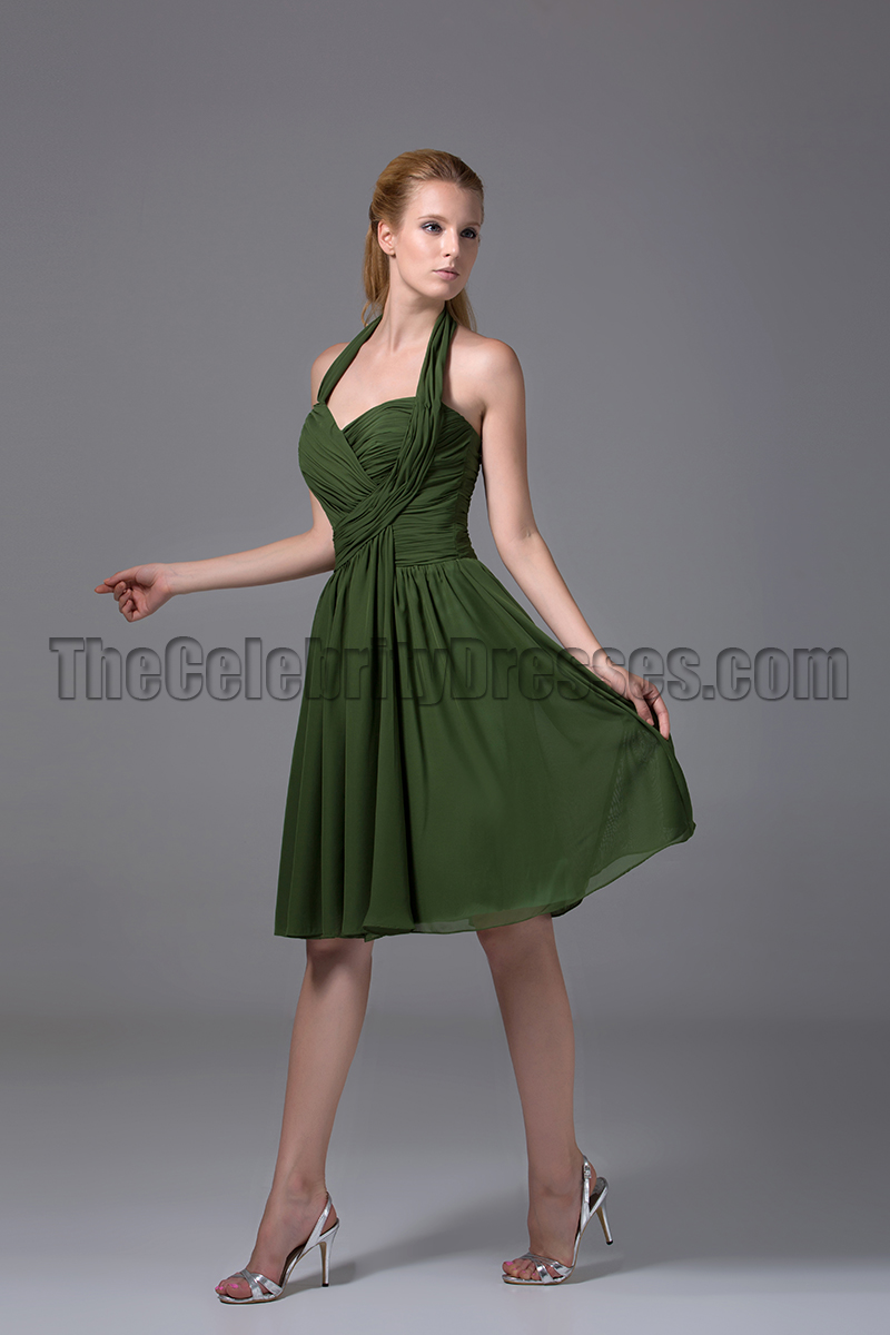 Dark Green Off Shoulder Long Satin Formal Elegant Prom ...