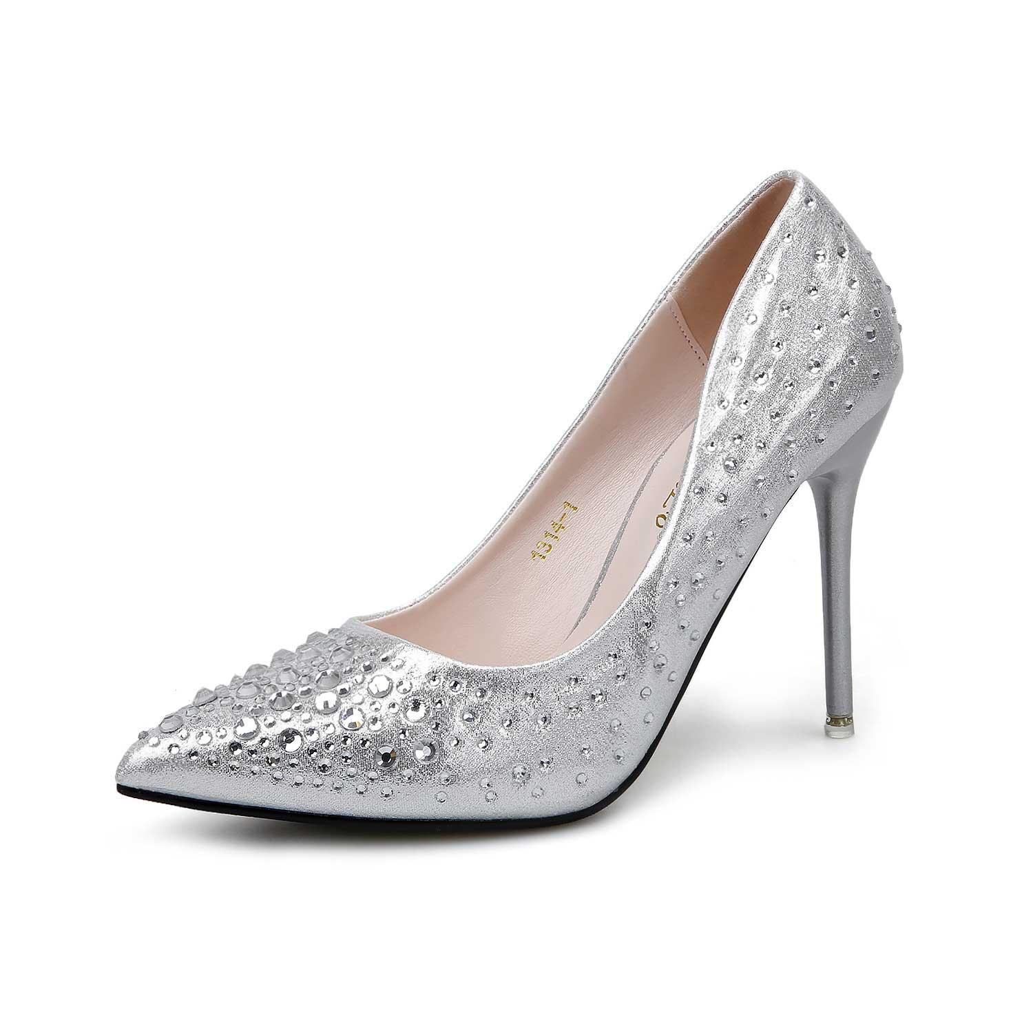 I bought the shoes for my wedding. They are gorgeous, surprisingly comfortable. It is a good choice. I chose the size according to their size chart and the shoes fit me well. Greatly recommended if you are looking for beautiful shoes:)Price: $