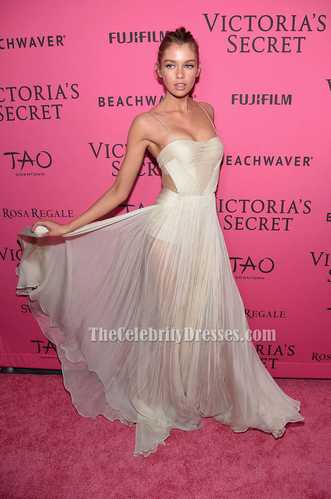 2ca3312dc68 Stella Maxwell Evening Dress 2015 Victoria s Secret Fashion After Party -  TheCelebrityDresses
