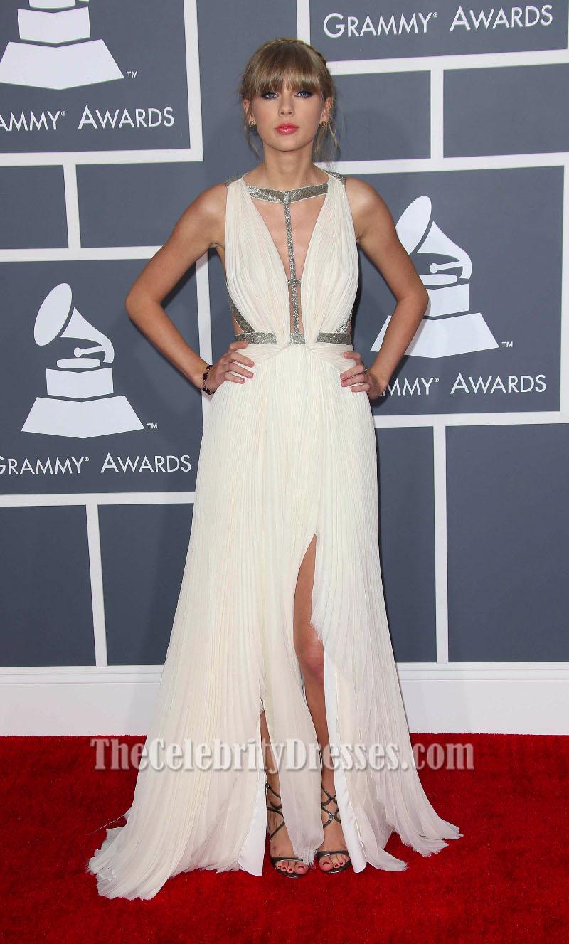 Taylor swift gown grammy 2019 celebrity