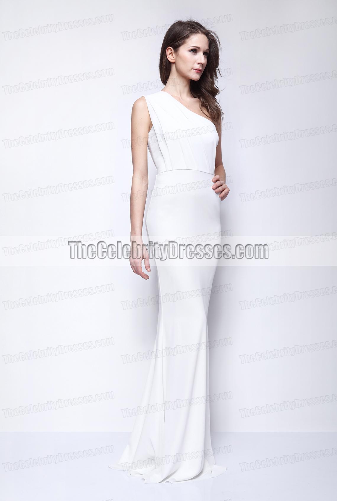 Kate Beckinsale weißes Schulter-Abschlussball-Kleid-Abend-Kleid ...
