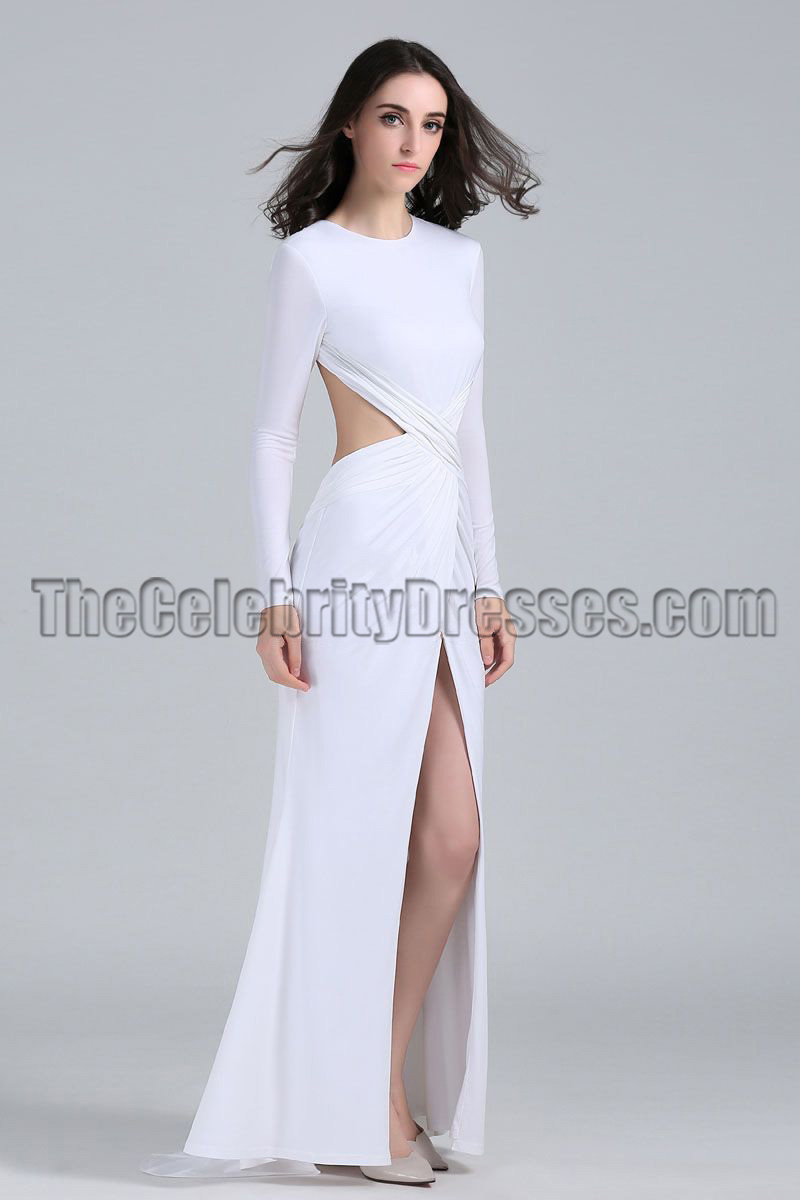 Shall afford Sexy white cut out dresses