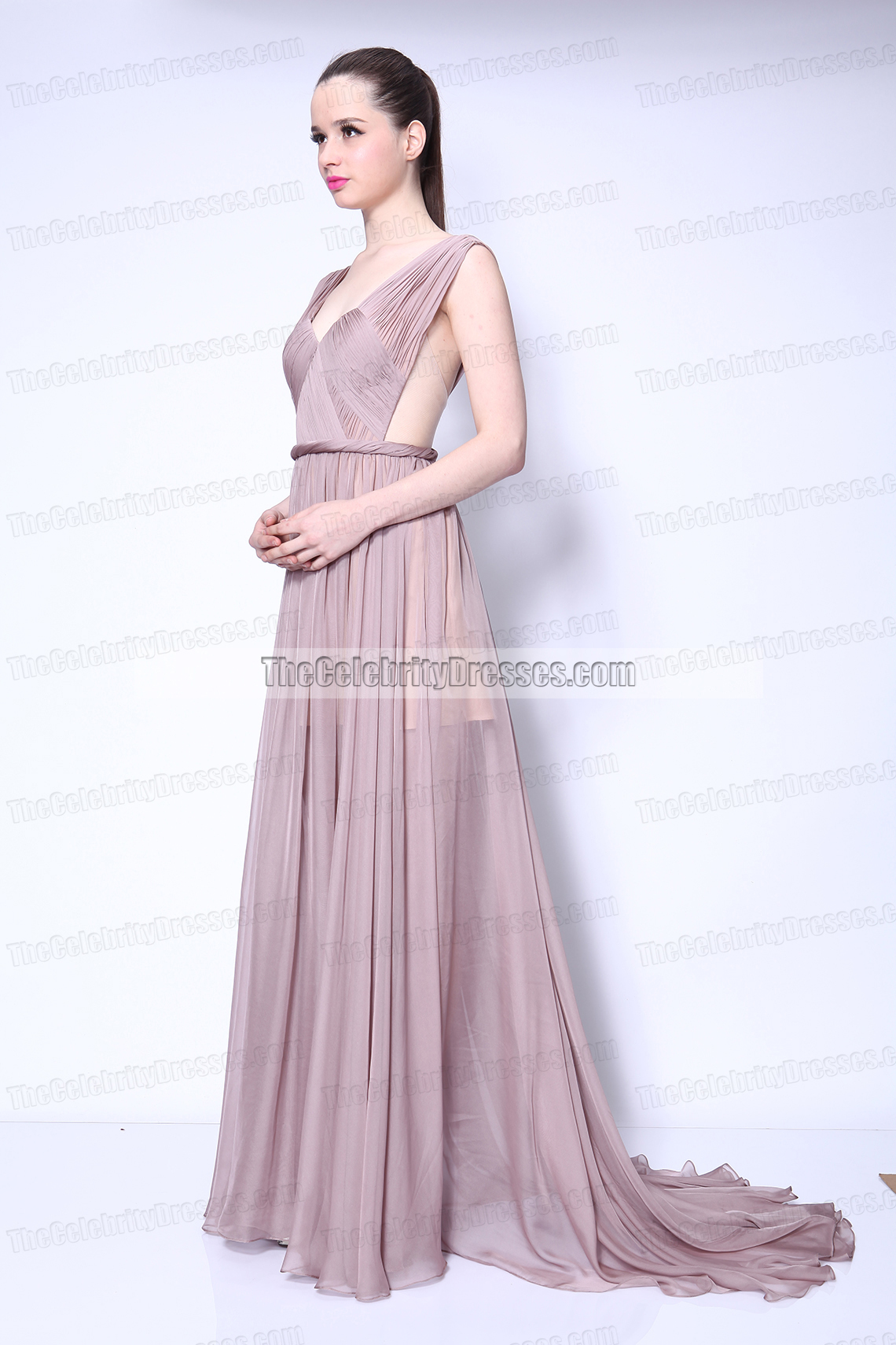 d890e0736e Taylor Swift Chiffon Prom Dress in Video Begin Again gorgeous Gown -  TheCelebrityDresses