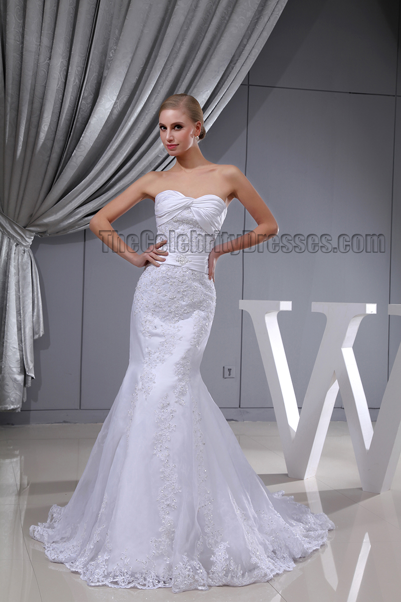 trumpet lace wedding dress trumpet mermaid strapless sweetheart lace wedding dress 8089