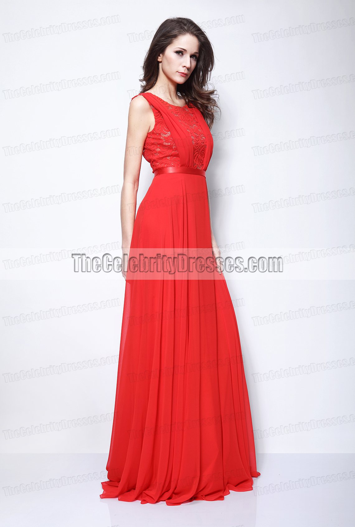 ximena navarrete rot backless abendkleid 66. cannes filmfest promi-kleid