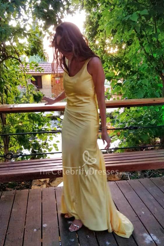 Kate Hudson Gelb Abend Abendkleid Wie Werde Ich Ihn Los In 10 Tagen Thecelebritydresses