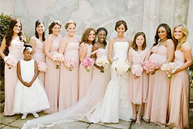 celebrity bridesmaid dresses