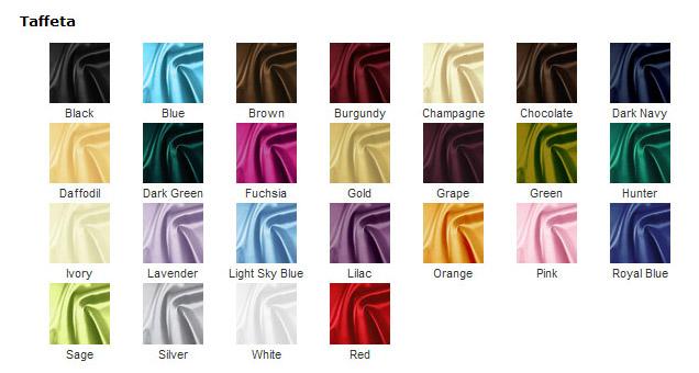 taffeta color