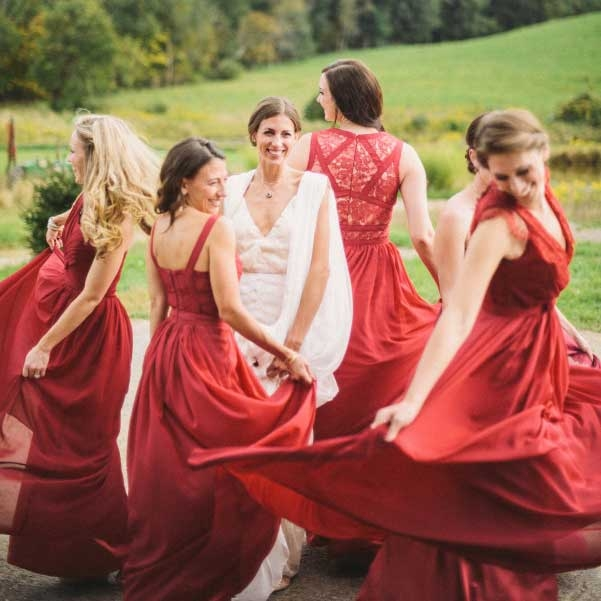 Red BridesmaidDresses
