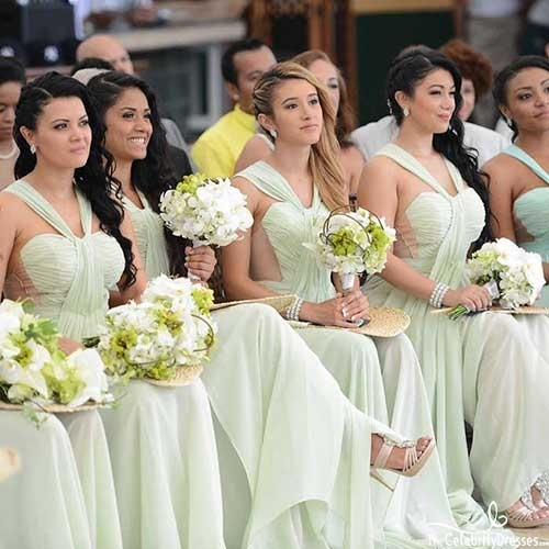 Strapless Bridesmaid Dresses